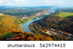 color aerial photography of... | Shutterstock . vector #562974415