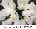 Bouquet Of Fresh White Wedding...