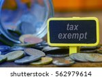 finance conceptual image with... | Shutterstock . vector #562979614