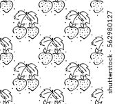 raster fruits illustration.... | Shutterstock . vector #562980127
