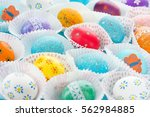 Colorful Easter Eggs   Happy...