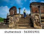 ancient ruins. polonnaruwa...   Shutterstock . vector #563001901
