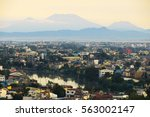 view of pasig river and metro... | Shutterstock . vector #563002147