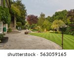 English Country Garden In The...