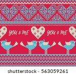 seamless pattern on the theme... | Shutterstock .eps vector #563059261