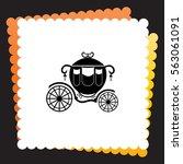 carriage  icon. vector design. | Shutterstock .eps vector #563061091
