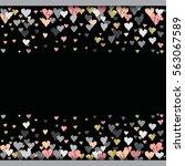 dark horizontal design with...   Shutterstock . vector #563067589