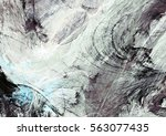 abstract painting soft color... | Shutterstock . vector #563077435