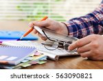 accounting | Shutterstock . vector #563090821