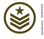 army related  emblem image... | Shutterstock .eps vector #563094349