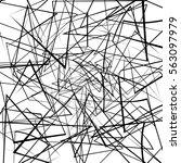 random lines abstract texture | Shutterstock . vector #563097979