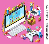 video game ux development. web...