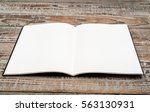 blank catalog  magazines book...   Shutterstock . vector #563130931