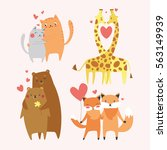 Cute Animals Couples In Love...