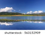 nature landscape with blue sky  ...   Shutterstock . vector #563152909