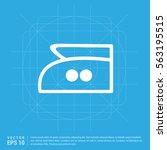 laundry symbols icon   Shutterstock .eps vector #563195515