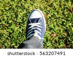 shoes fashion for men and women ... | Shutterstock . vector #563207491