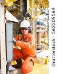 technician instrument...   Shutterstock . vector #563209564