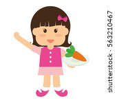 healthy eating icon image... | Shutterstock .eps vector #563210467
