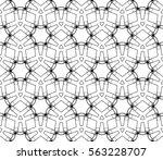 modern stylish texture.... | Shutterstock .eps vector #563228707