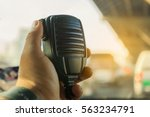 radio communication service and ... | Shutterstock . vector #563234791