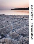 Kimmeridge Bay On The Dorset...