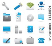professional icons for your... | Shutterstock .eps vector #56330506