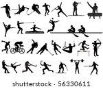 sport   Shutterstock .eps vector #56330611