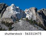 Mount Rushmore Memorial...