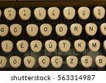 Old Typewriter Close Up