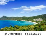 hamilton island in queensland... | Shutterstock . vector #563316199