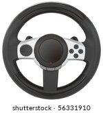 computer steering wheel.... | Shutterstock . vector #56331910