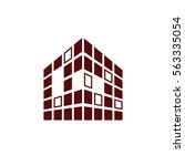 buildings icon for company | Shutterstock .eps vector #563335054
