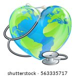 conceptual illustration of a... | Shutterstock .eps vector #563335717