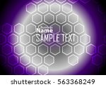 color abstract template for... | Shutterstock .eps vector #563368249