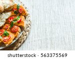 a lot of sandwiches with cheese ...   Shutterstock . vector #563375569