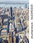 new york city   september 2010  ... | Shutterstock . vector #563390335