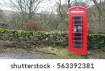 Telephone Booth In A Countryside