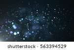 real backlit dust particles... | Shutterstock . vector #563394529