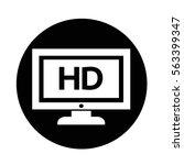 tv icon   Shutterstock .eps vector #563399347