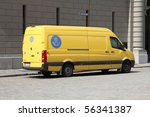 stockholm   june 1  vw crafter... | Shutterstock . vector #56341387
