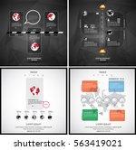 modern infographic  vector | Shutterstock .eps vector #563419021
