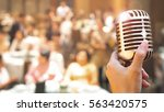 wedding meeting and event on... | Shutterstock . vector #563420575