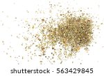 pile of dried oregano leaves...   Shutterstock . vector #563429845
