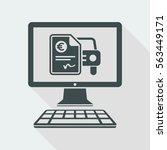 automotive online quote   euro  ... | Shutterstock .eps vector #563449171