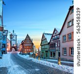 Amazing Winter In Old Town Of...