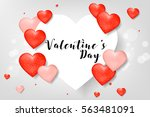 creative poster  banner or... | Shutterstock .eps vector #563481091