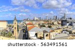Tel Aviv Jaffa City Skyline....
