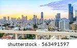 Tel Aviv City Skyline View From ...