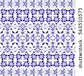 ethnic seamless pattern with...   Shutterstock .eps vector #563510575